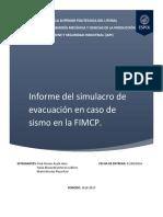 Informe Del Sismo H&SI