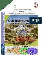 Plan Estrategico Institucional 2009 2015 Ugel Huanta
