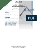 Programa de Estadística del ITEC