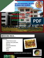 Diapositiva de Medcina Inka