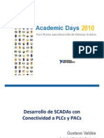 Desarrollo de SCADAs Con Conectividad a PLCs y PAC