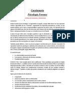 Cuestionario forense