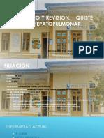 Caso Clínico Hidatidosis Pulmonar en Pediatría