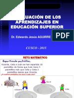 5 Evaluación de Los Aprendizajes en La Universidad[1]