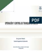 Sr Juan Palma Operación y Control de Tranques de Relaves