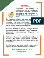 Editorial Periodico Mural
