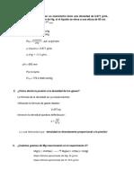 Cuestionario Gases