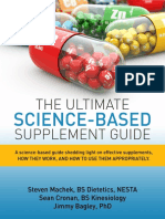The Ultimate Science-Based Supplement Guide