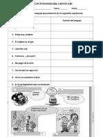 Guía Funciones Del Lenguaje