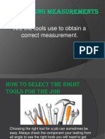 Obtaining Measurements