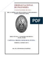 Teoria de Proyecciones Del Punto-uni-2016-i