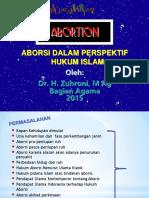 Agama Aborsi Narkotika Autopsi
