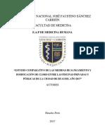 Estudio Comparativo de Dosificacion de Cloro en Piscinas