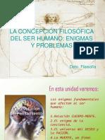 La Concepción Filosófica Del Ser Humano