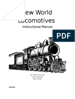 new world locomotives instructional manual