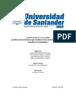 Feminicidios en Santander Proyecto Final