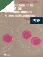 (9681807227) William Feller-Introducción a La Teoría de Probabilidades y Sus Aplicaciones. 1 (1973)