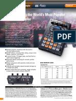 Brochura - Sp-404sx Brochure