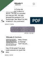 @DonaldJTrumpJr WikiLeaks DMs