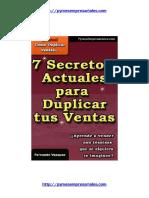 7 Secretos de Ventas.pdf
