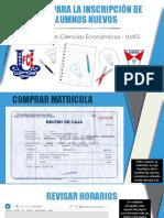 Pasos Inscripción Alumnos Nuevos - 2-2015