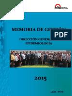 Informe Memoria de Epi