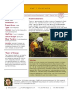 The Force for Rural Empowerment and Economic Development (FREED) - GSBI 2010 - Factsheet