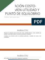 01 RELACIÓN CVU Y PUNTO DE EQUILOBRIO se copia.pptx