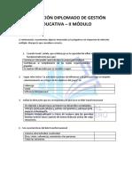 Evaluación Gestión Educativa Módulo 2