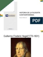 Historia de La Filosofia Contemporánea