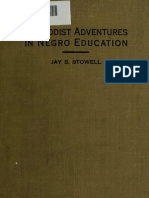 (1922) Methodist Adventures in Negro Education
