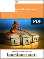 The Un Declaration on Indigenous Peoples Rights