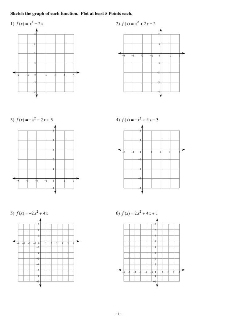 Graphing Parabolas Worksheet 2 with Answer Key.pdf