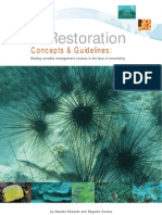 Reef Restoration Guidelines