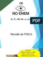5.11. de Olho No Enem - Revisão de Física