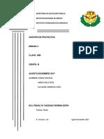Proyecto de Gestion de Proyectos Unidad 1 y 2