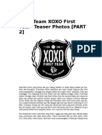 EXO Team XOXO First Year.doc