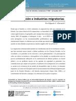 Securitización e Industrias Migratorias