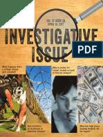 investigative issue cover