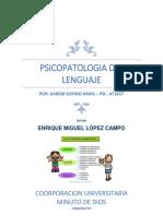 7º Psicopatologia Del Lenguaje PDF