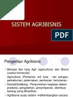 2 Sistem Agribisnis