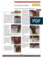 Lead Screw Replacement Instructions
