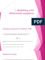 De 2 Mathematical Models