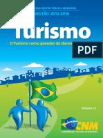 11. Turismo - O Turismo Como Gerador de Desenvolvimento