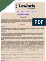 Constitución de los Estados Unidos de America (Español) www.LexJuris