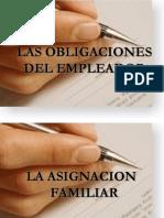 Las Obligaciones Del Empleador