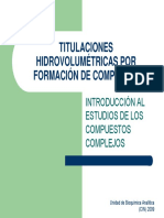 Compuestos Complejos o Complejos de Coordinacion