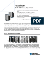 NI9265 Datasheet