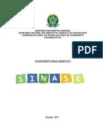 Levantamento SINASE 2014 (2017)