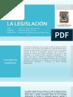 Presentación La Legislación